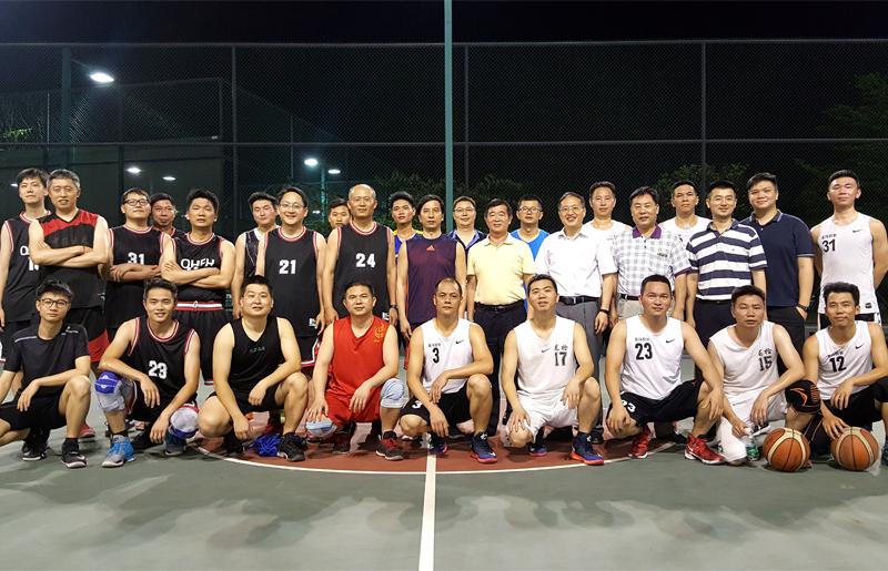 篮球友谊赛-2017年4月19日